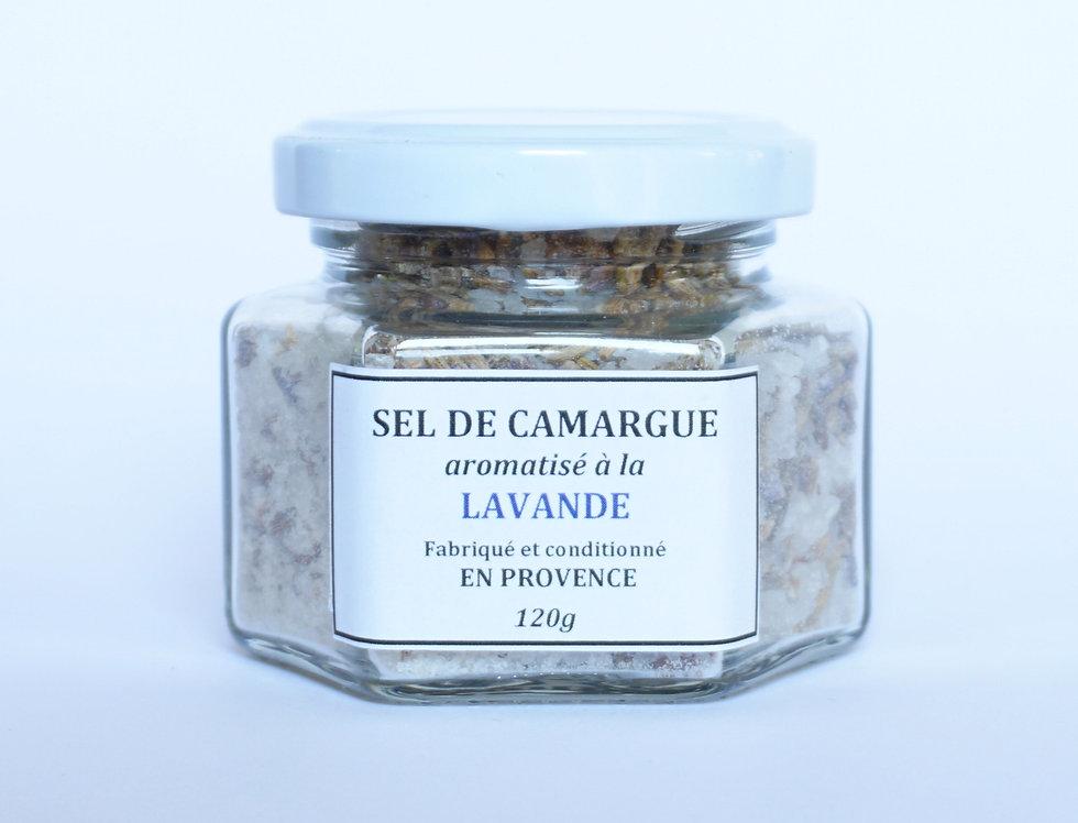Sel de Camargue à la Lavande 120gr