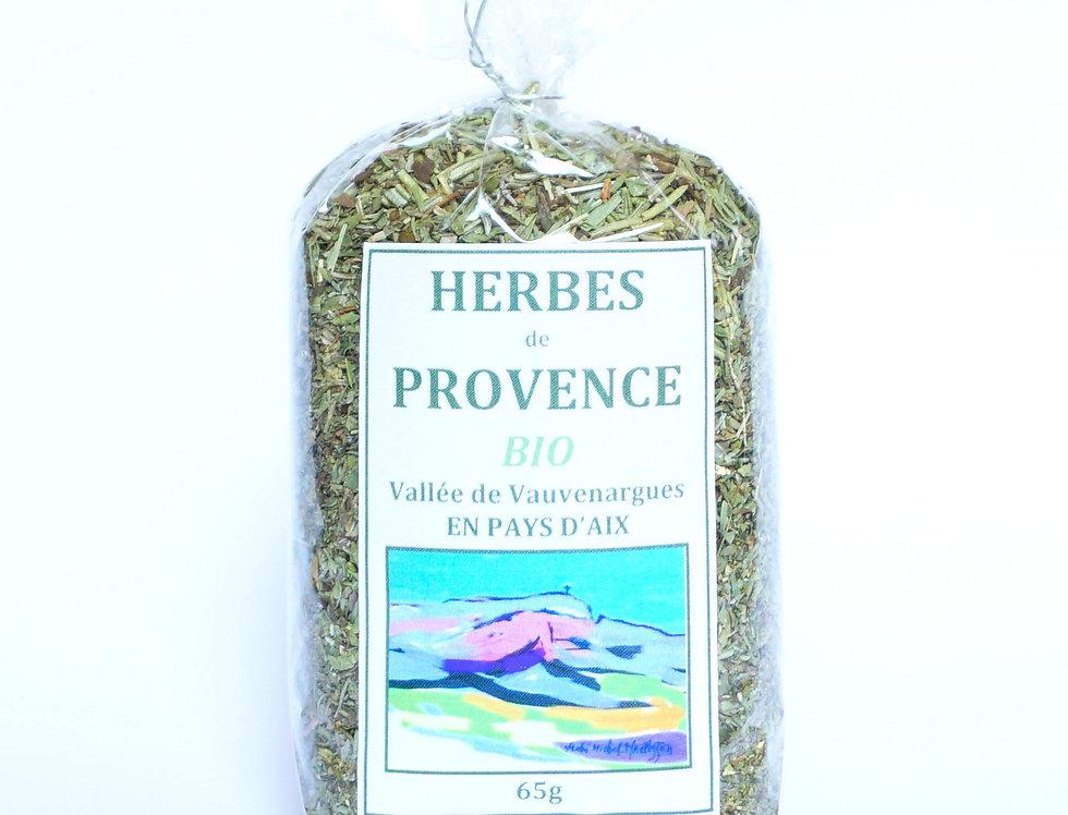 Sachet d'Herbes de Provence Bio 65gr