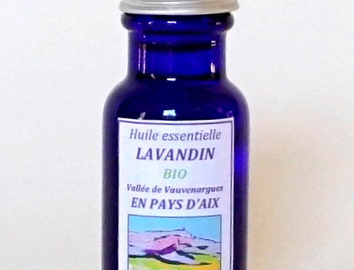Lavandin Flacon bleu 15mL