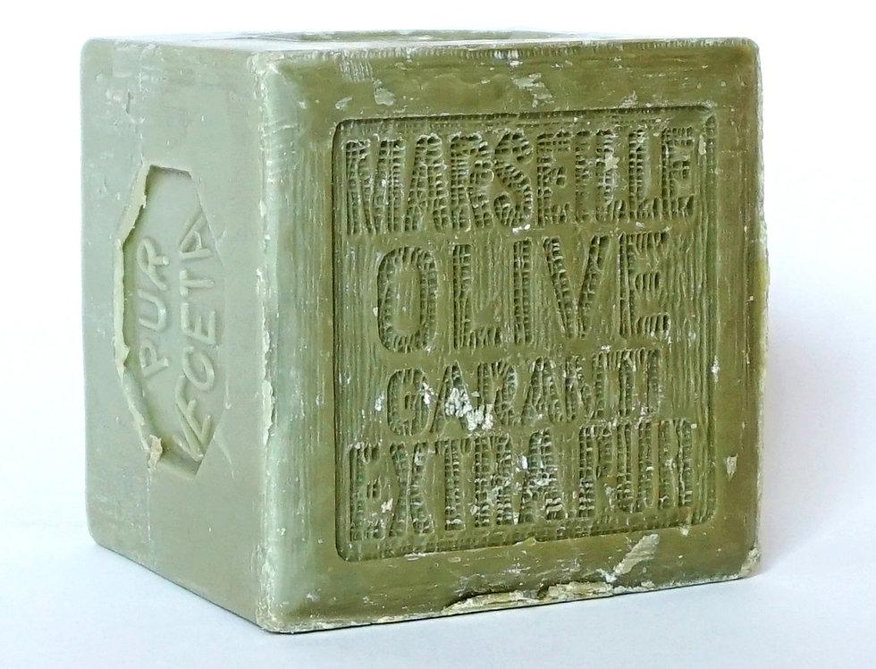 Savon de Marseille vert 600gr