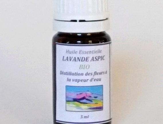 Lavande Aspic goutte-à-goutte 5mL