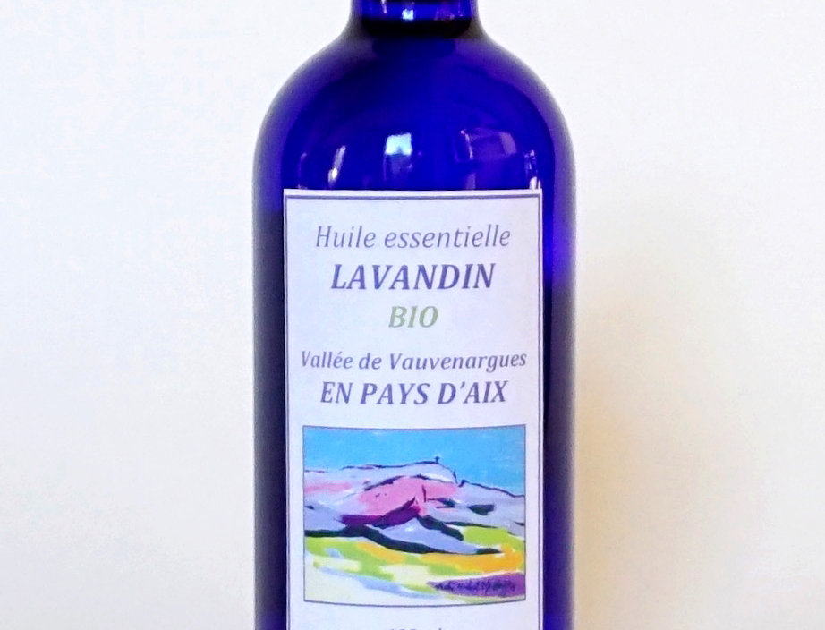 Lavandin Flacon bleu 100mL