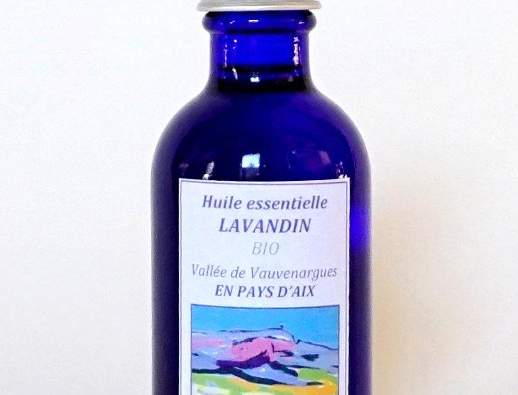 Lavandin Flacon bleu 50mL