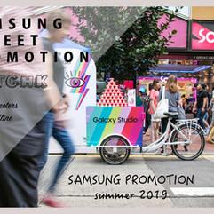 Samsung Street Promotion 2019