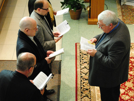 Four Make Permanent Profession to the Secular Franciscan Order
