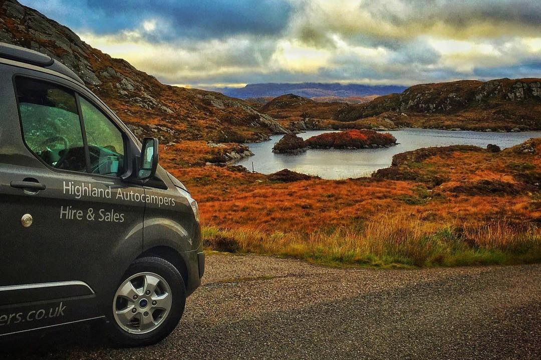 Highland Auto Sales >> Highland Auto Campers Campervan Next To A Loch