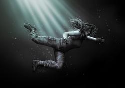Lara Swiming