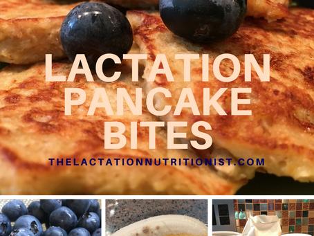 Lactation Pancakes / Pancake Bites