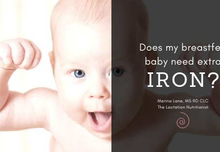 Does my Breastfed Baby Need Iron Supplements?