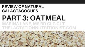 Lactation Oatmeal