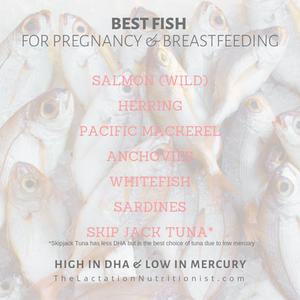 best fish while breastfeeding