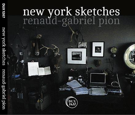 New York Sketches /cd-photobook