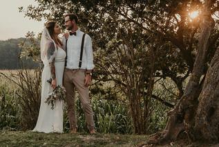 Hochzeit Vintage Wald