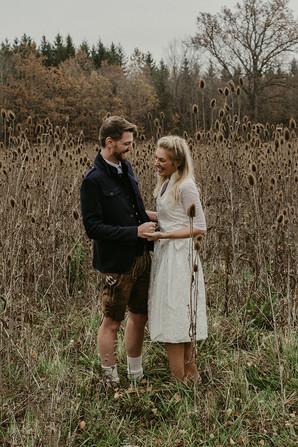 Hochzeit freie Trauung in Tracht von Geweihda