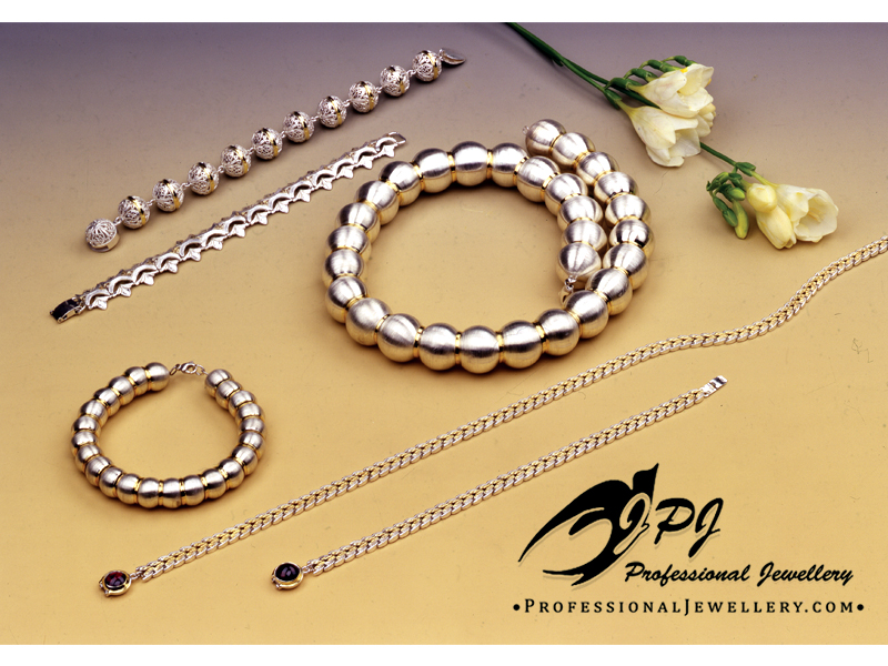 JPJ Professional Jewellery sterling silver & gold plated sterling silver classic