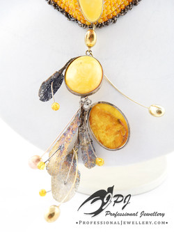 JPJ Professional Jewellery Baltic Amber sterling silver necklace 2.jpg