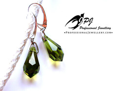 JPJ Professional Jewellery Swarovski Crystal Earrings in sterling silver.jpg