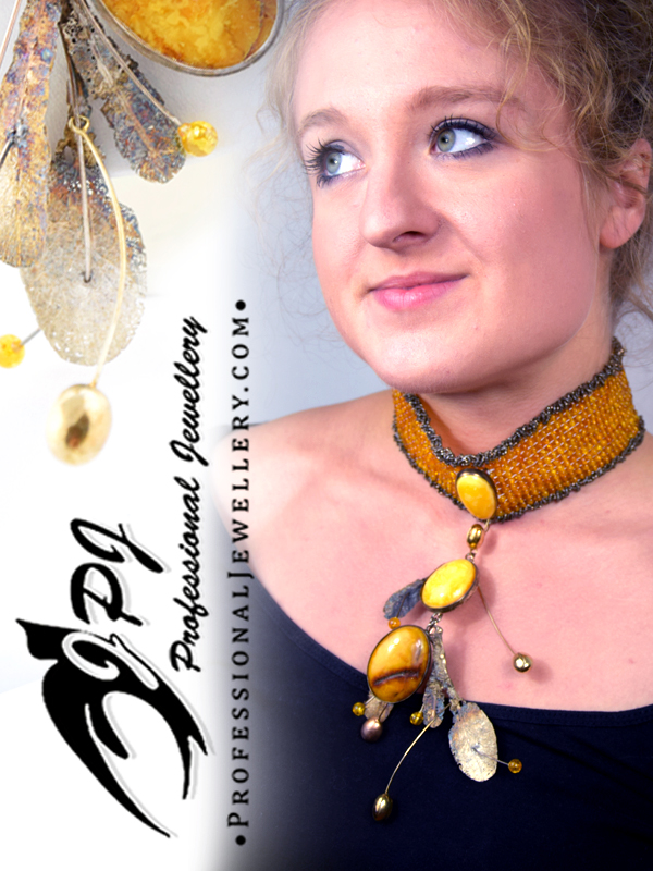 JPJ Professional Jewellery Baltic Amber sterling silver necklace 4.jpg