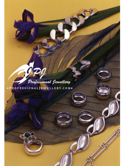 JPJ Professional Jewellery sterling silver and oxidized sterling silver jewelry