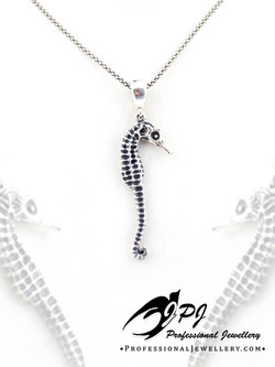 JPJ Professional Jewellery sterling silver seahorse pendant.jpg