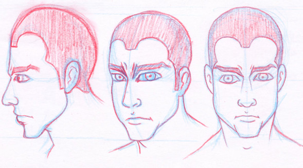 Concept Sketches for Graphic Novel
