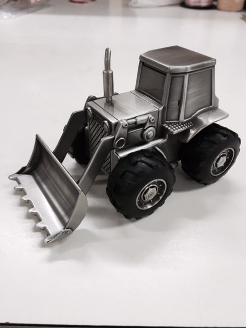 Pewter Tractor Loader
