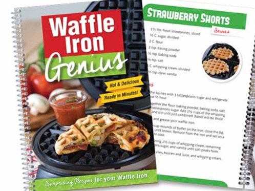 Waffle Iron Genius Cookbook