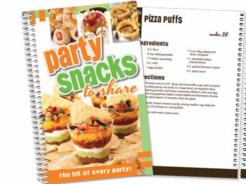 Party Snacks to Share Cookbook