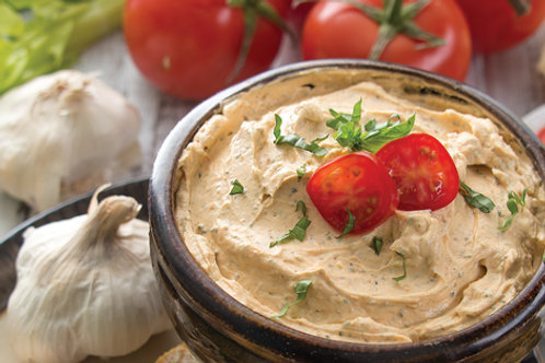Tomato Garlic Basil Dip