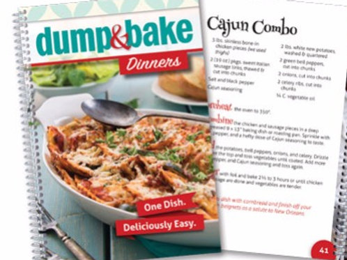 Dump & Bake DinnersCookbook