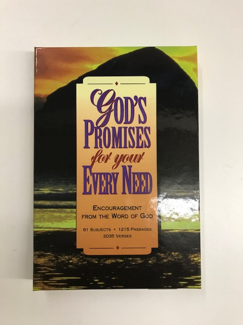 God's Promises ForYour EverydayNeed