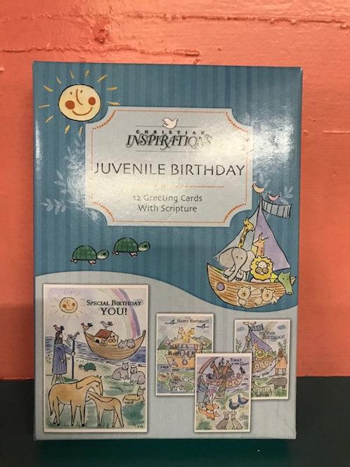 Birthday Juvenile Noah's Ark