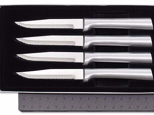 Four Serrated Steak Knives Gift Set