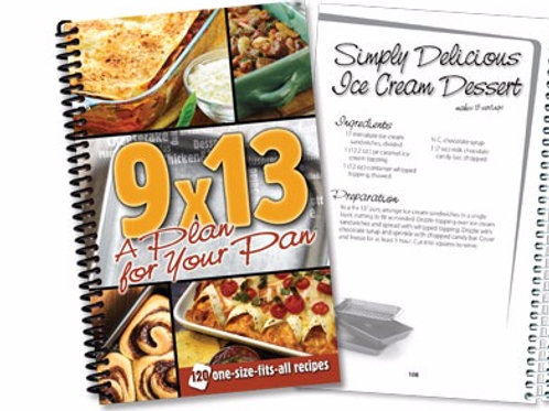 9x13 A Plan for Your Pan Cookbook