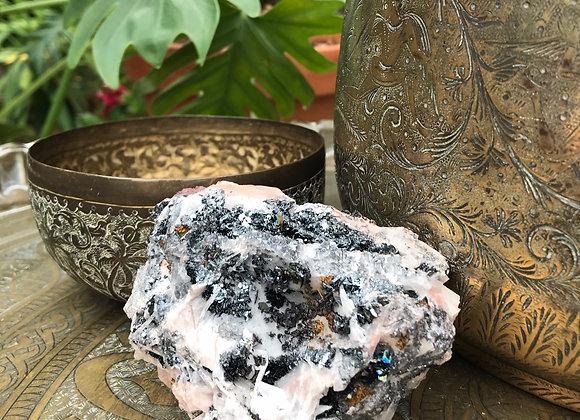 Quartz Specularite on Hematite