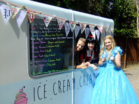 'Sophia' the ice cream trailer