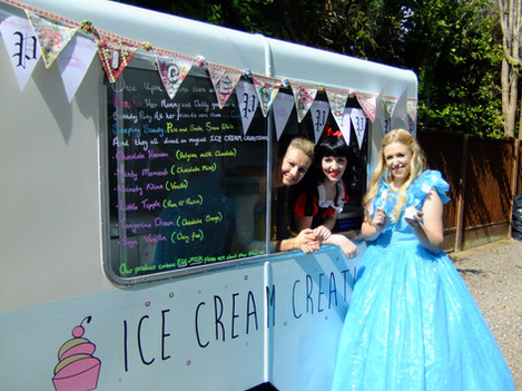 'Sophia' the ice cream trailer
