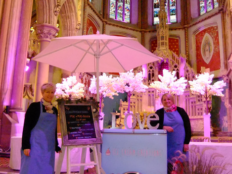 'Dolly' the ice cream trolley