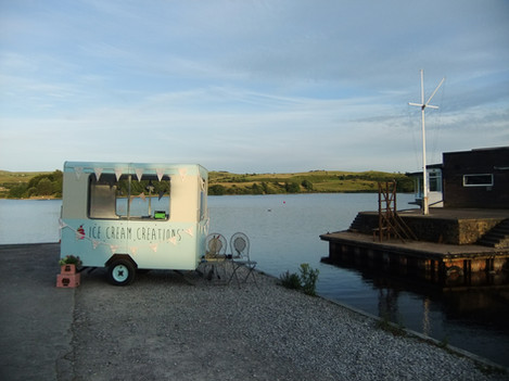 'Sophia' ready to serve delicious ice cream!