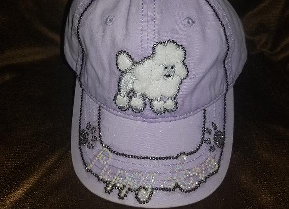 """Puppy Love""~ Lavender Baseball Cap"