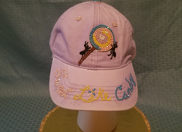 Sweet Like Candy ~ Lavender Baseball Cap