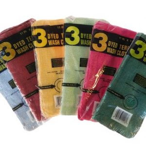 3 pack Waffle Weave Dish CLoths 288  packs/Case