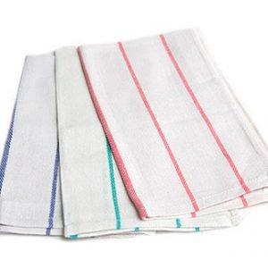 Kitchen Towel - Striped Herringbone