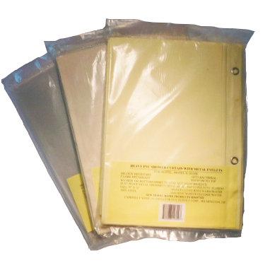 Shower Curtain - Heavy-Duty  2 doz/case
