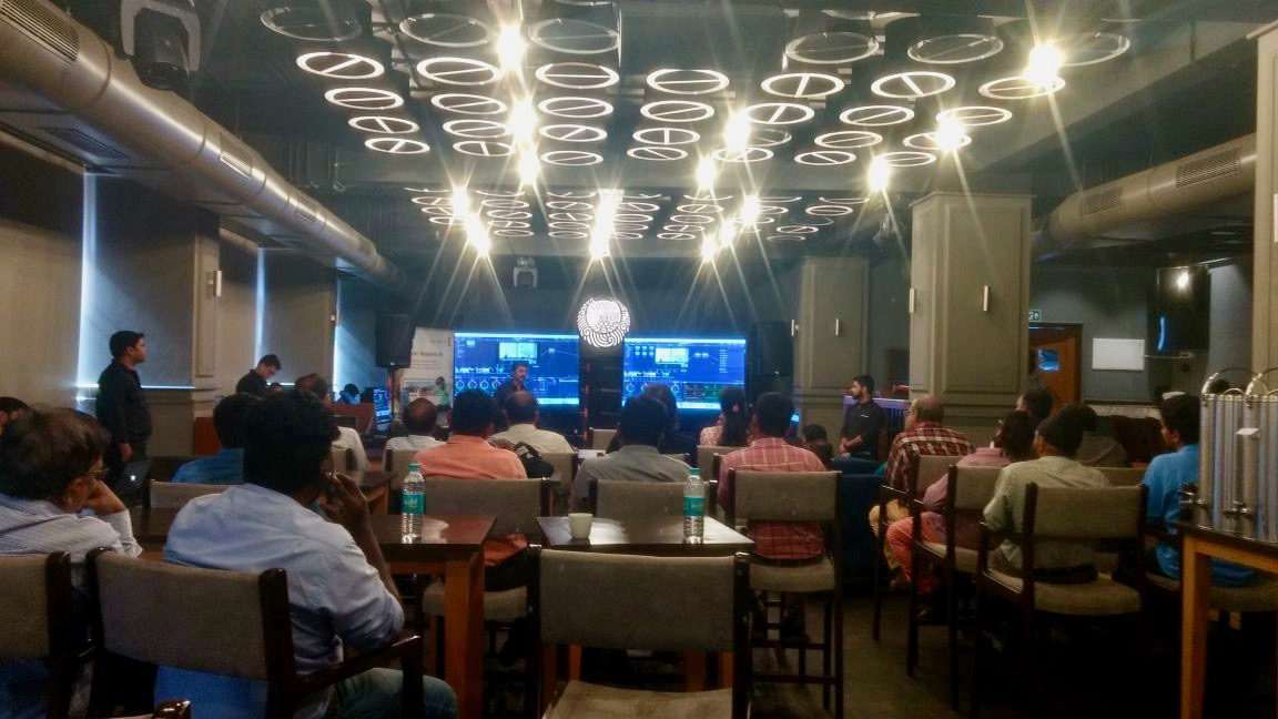 BMD POPup workshop mumbai 2018