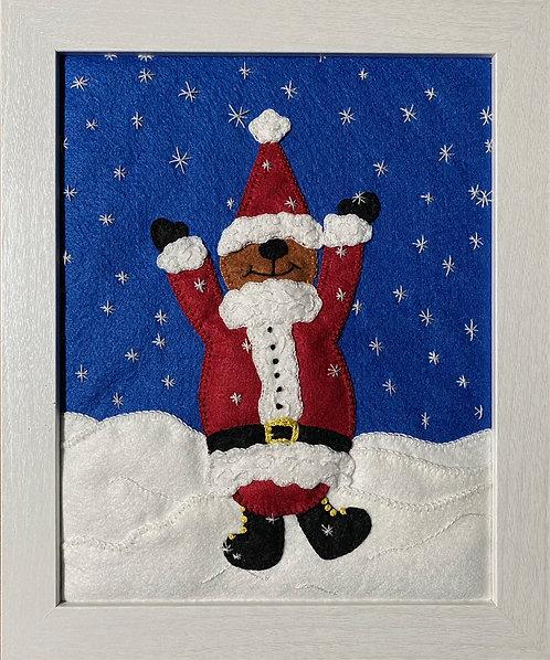 Bearly Santa Claus