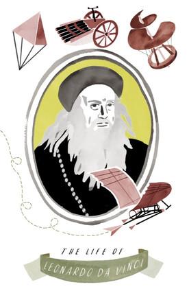 Leonardo da Vinci leporello