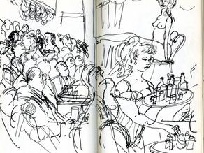 "Things I love: Ronald Searle's ""Secret Sketchbook"""