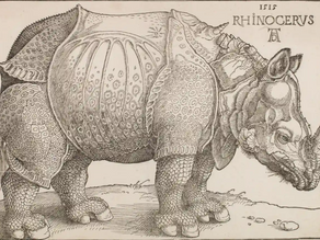 Things I love: Dürer's Rhinoceros (1515)