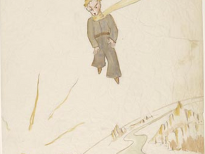 Le Petit Prince early manuscript illustrations